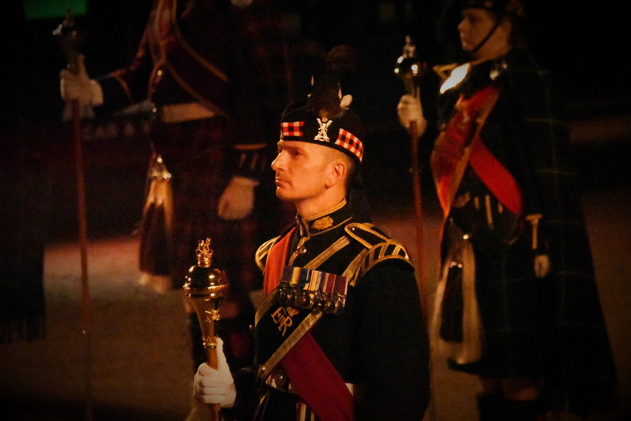 Edinburgh Tattoo - Penny for your thoughts