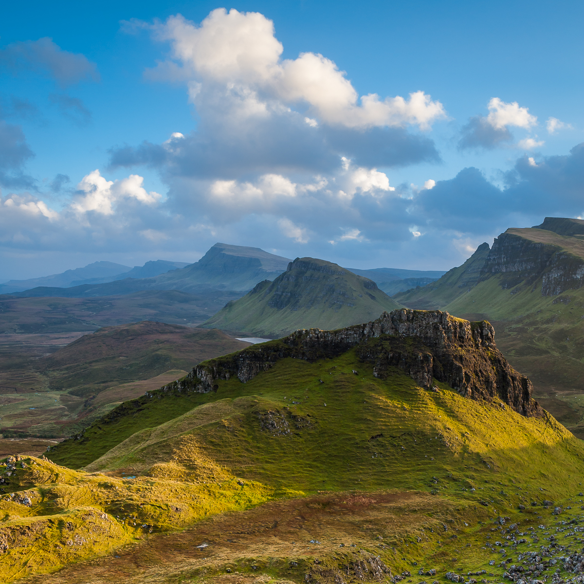 After the storm, Skye